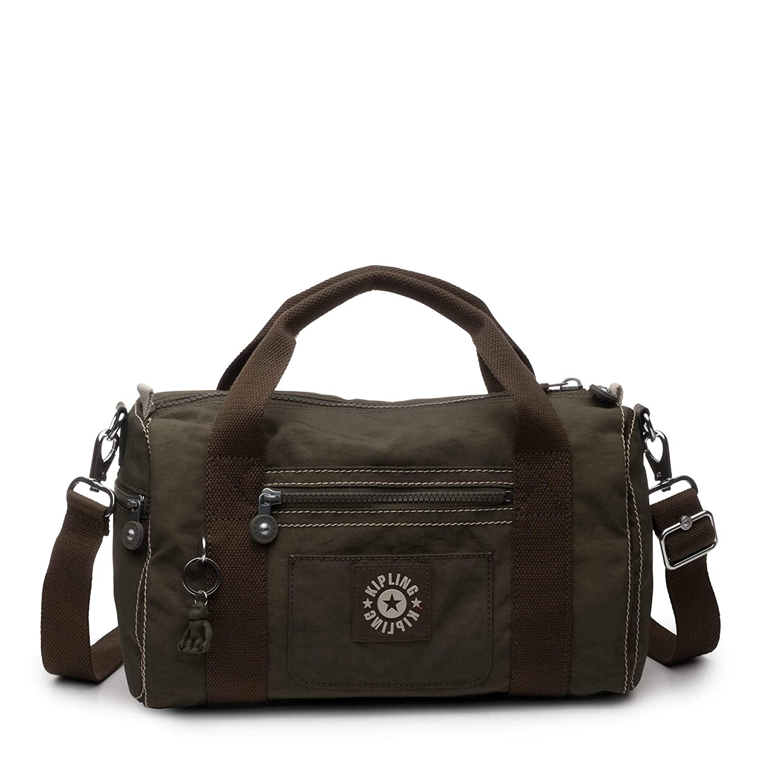 Kipling Tag Along Duffle, Essential Travel Bag, Multi Pocket, Zip Closure