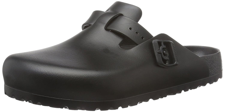 83c53658dbff Birkenstock Unisex Adults  Boston Eva Black Clogs  Amazon.co.uk  Shoes    Bags
