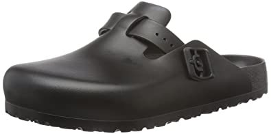 Birkenstock Unisex Adults Boston Eva Black Clogs Amazoncouk