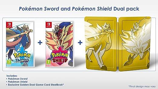 Pokemon Sword and Shield Dual Edition - Nintendo Switch [Importación inglesa]: Amazon.es: Videojuegos