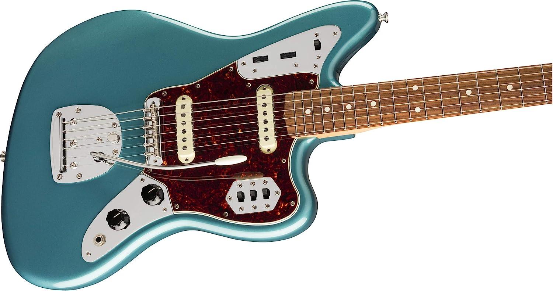 Fender Vintera 60s Jaguar Pau Ferro - Diapasón, color turquesa ...