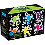 Mudpuppy Keith Haring Glow in The Dark Puzzle (100 Piece)