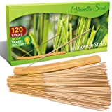SCENTORINI Citronella Incense Sticks, 120 PCS Lemongrass Incense Sticks for Outdoor Garden Patio Camping