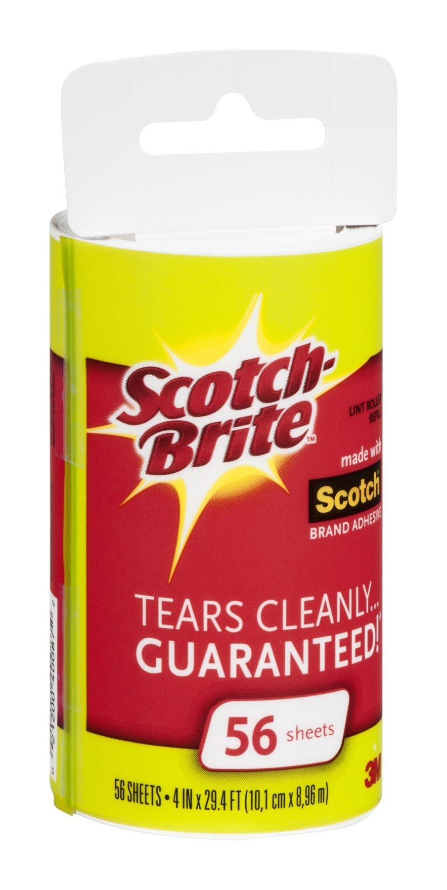 Scotch-Brite Lint Roller Refill by 3M