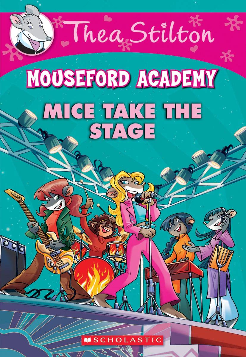 Amazon.com: Mice Take the Stage (Mouseford Academy #7) (Thea ...
