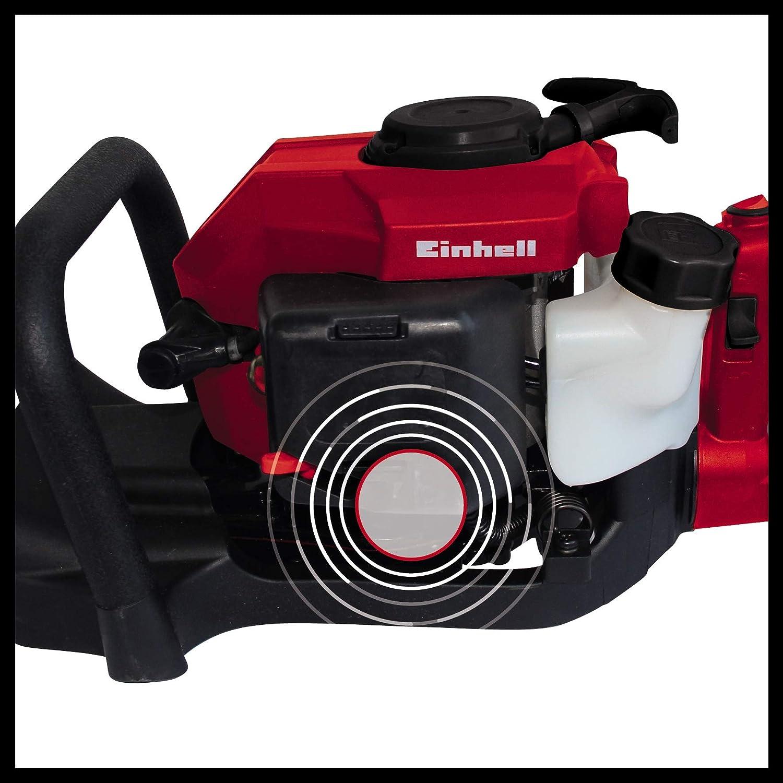 Einhell GC-PH 2155- Recortasetos de gasolina 700W (longitud de corte: 550mm, longitud de la hoja: 650mm, espacio entre dientes: 28mm, Corte por ...