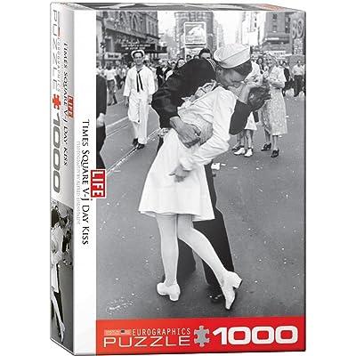 EuroGraphics Kissing on VJ Day LIFE Magazine (1000 Piece) Puzzle