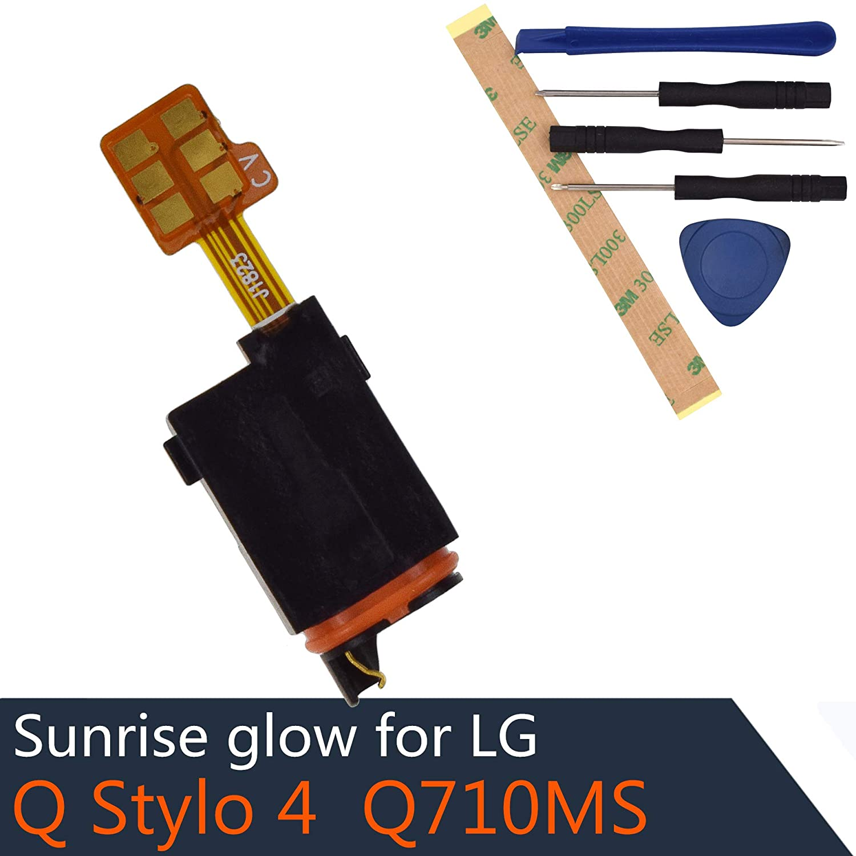Stylo 4 Headphone Jack Flex Cable Compatible with LG Q Stylo 4 Q Stylus Q710 Q710MS