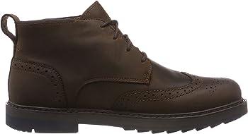 Timberland Men's Squall Canyon Wingtip Chukka Boots (Dark Brown)