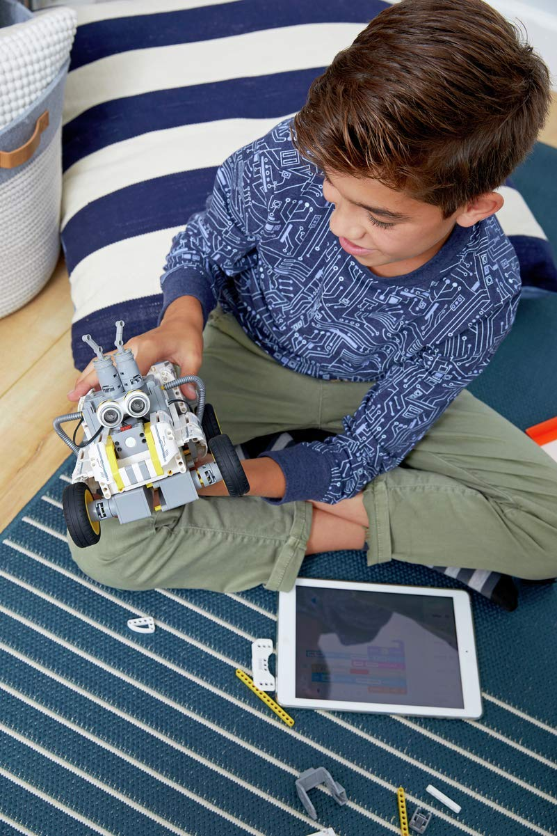 UBTECH JIMU Robot Builderbots Series: Overdrive Kit / App-Enabled Building and Coding STEM Learning Kit (410 Parts and Connectors) by UBTECH (Image #7)