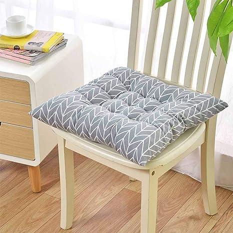 Amazon.com: Cojines para silla cuadrados, antideslizantes ...