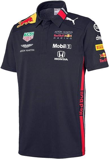 Red Bull Racing Aston Martin Team Polo 2019, XXL, Azul Navy, XX ...