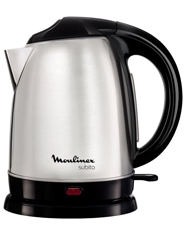 Moulinex BY530F Subito - Hervidor de agua de acero inoxidable (1,7 L): Amazon.es: Hogar