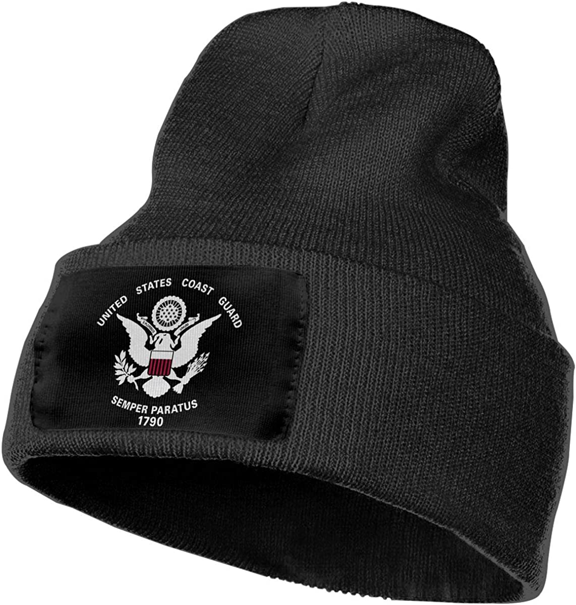 Thick,Soft,Warm Slouchy Knit Hat Winter Soft Ski Cap Mens/&Womens United States Coast Guard 1790 Beanie Cap