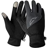 Triwonder Winter Warm Gloves Touch Screen Gloves Driving Gloves Cycling Gloves for Men Women