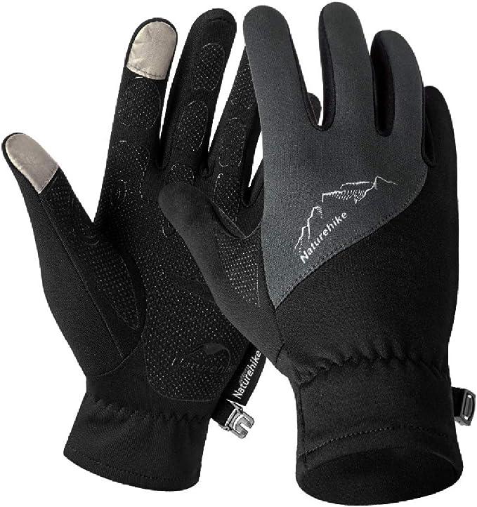 Triwonder Winter Warm Handschuhe Touch Screen Handschuhe Driving Handschuhe Fahrradhandschuhe Für Männer Frauen L Schwarz Bekleidung