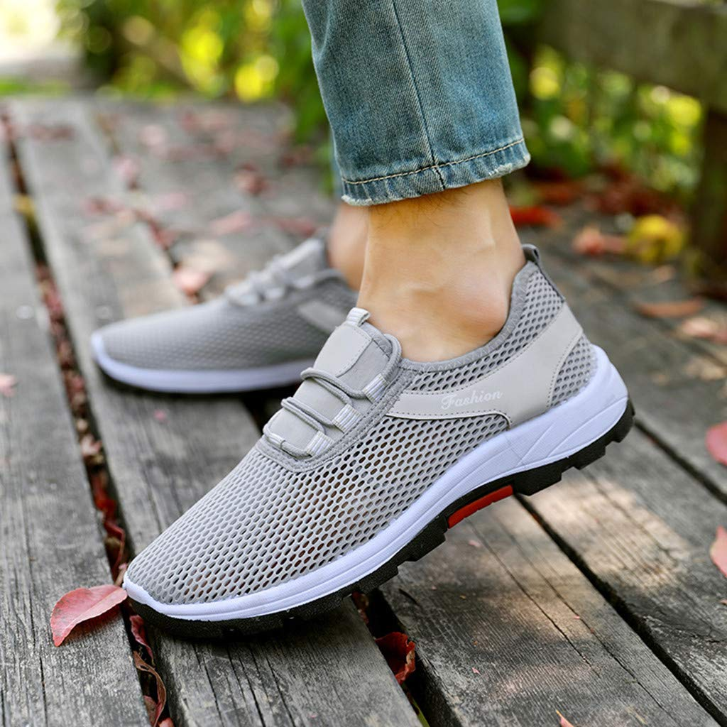 Plantar Fasciitis Sneakers Women Slip On Walking Running Shoes Ultra Lightweight Casual Comfortable Sneakers