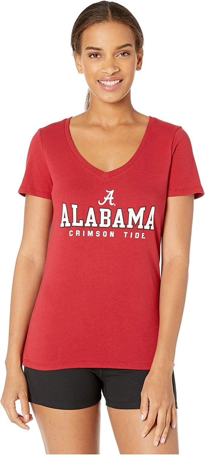 Champion College Women's Alabama Crimson Tide University V-Neck Tee