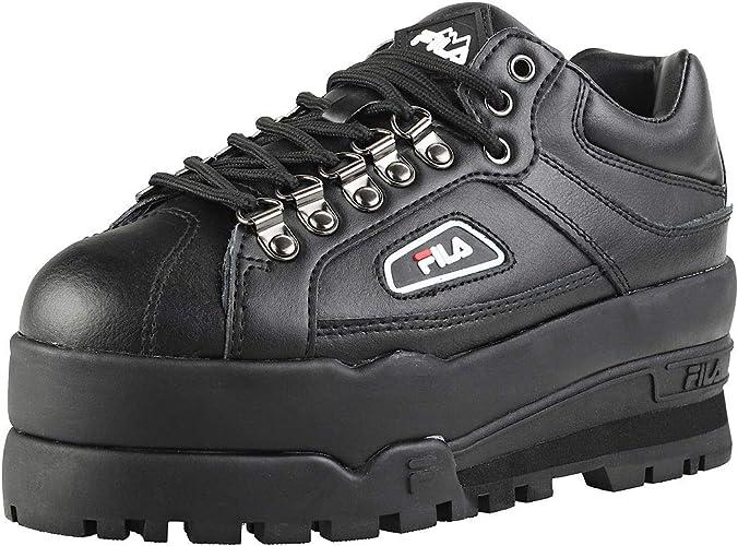 Fila Trailblazer Wedge Trainers Black 6