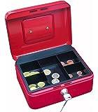 Wedo 145202X - Caja de caudales, talla 2 (20 x 16 x 9 cm), rojo