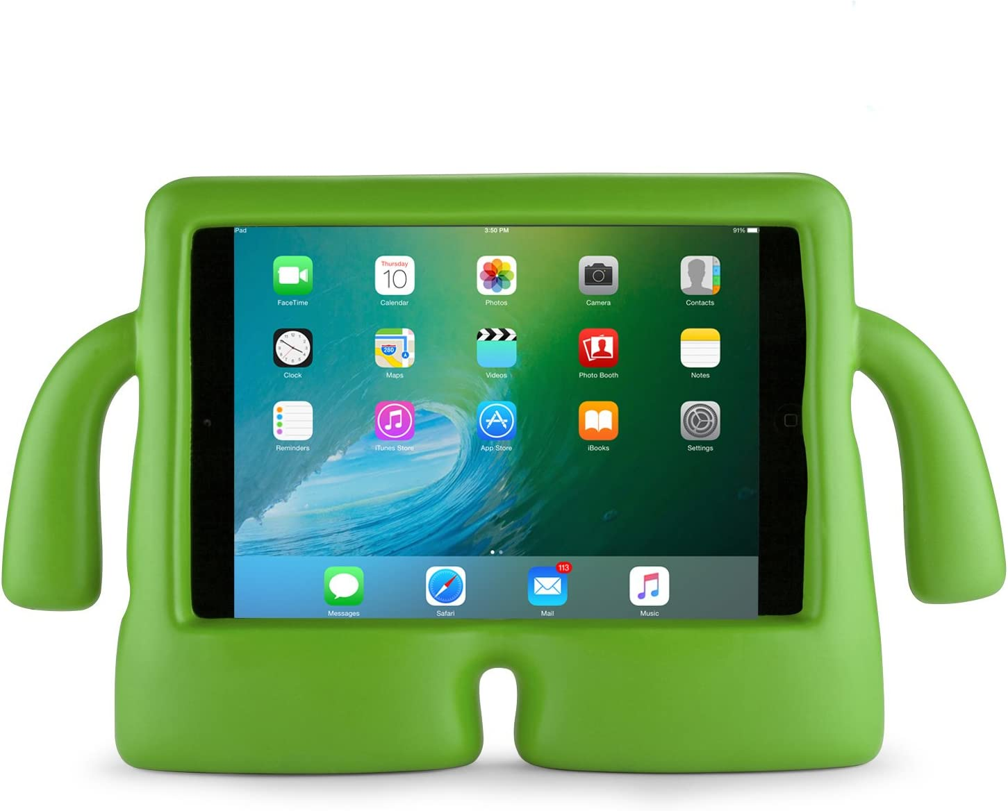 Speck Products 92840-1516 iGuy Freestanding Protective Case for iPad Mini 2/3/4, Lime Green, 25-Pack Business Packaging