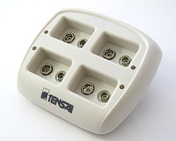 Tensai TI-NI9V - Cargador de pilas (Nimh, 9V / 6LR61 / 6F22)