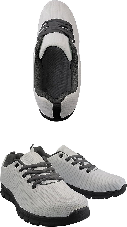 Wraill Chaussures de Course pour Femme et Fille - Chaussures de Course - Noir/Blanc - 3D - Chaussures de randonnée Cc29