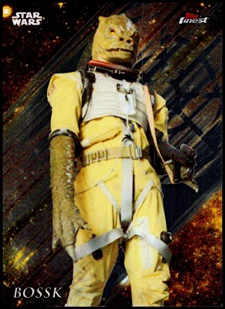 2018 Topps Finest Star Wars 15 Bossk Nm Mt Official Star