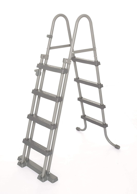 Bestway 58331 FLOWCLEAR Seguridad Escalera 122 cm, Carga máxima: 150 kg: Amazon.es: Juguetes y juegos