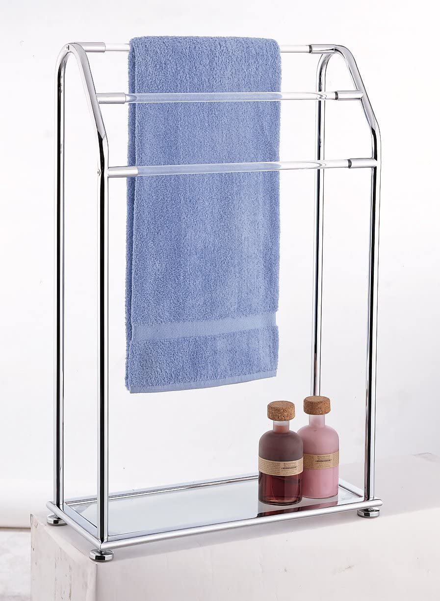 Organize It All 3 Bar Towel Rack For Drying