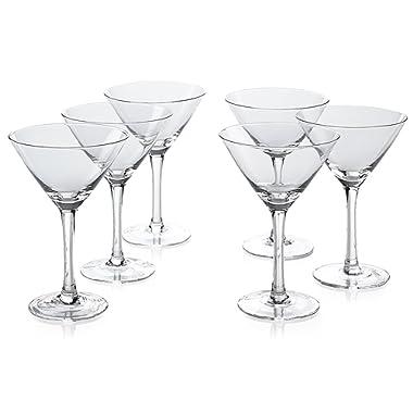 Classic Martini Glasses (10 Ounce)