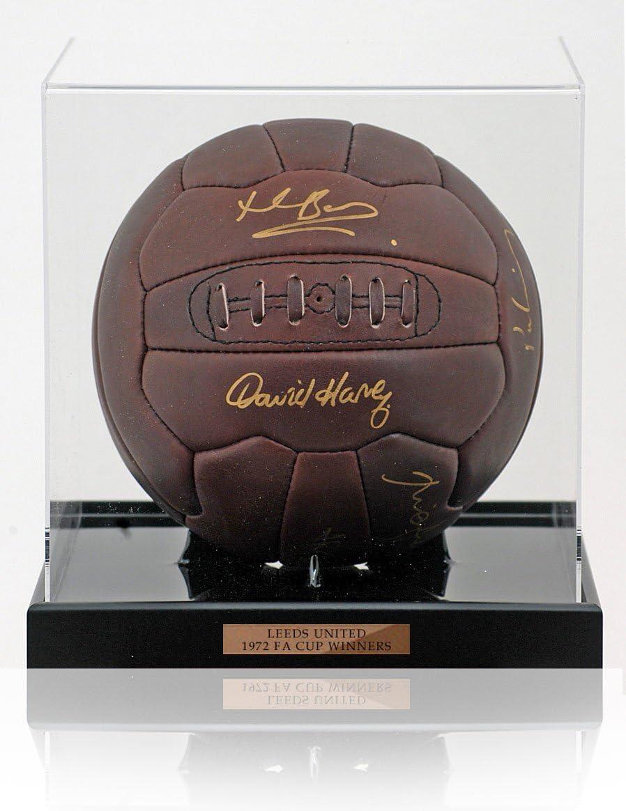 Tottenham Hotspur 1984 UEFA Ganadores Firmado pelota mano: Amazon ...