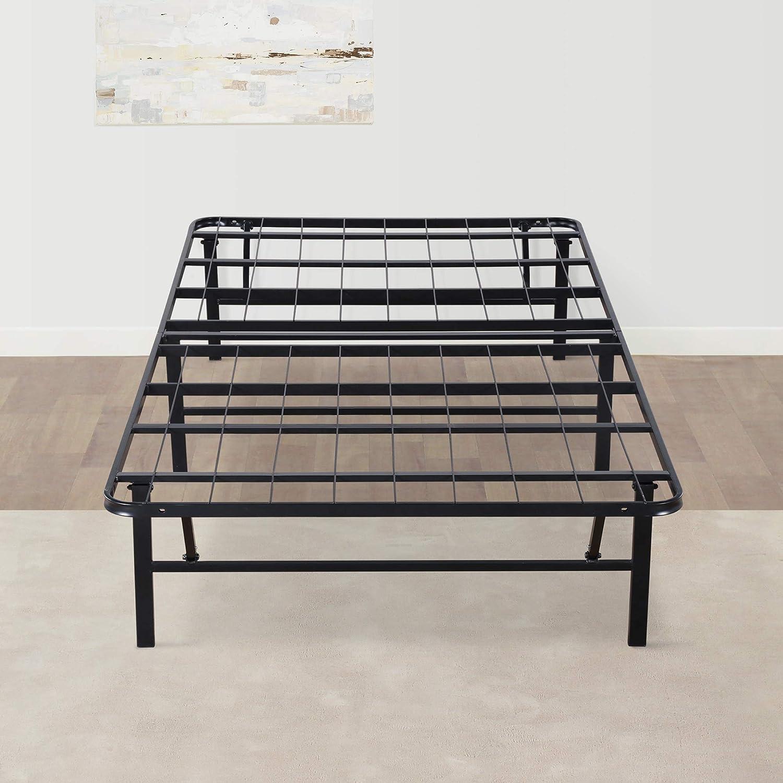 Olee Sleep 14 Inch Foldable Dura Metal Platform Bed Frame