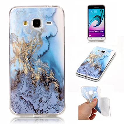 Amazon.com: Ivy [Mármol] carcasa de TPU para Samsung Galaxy ...