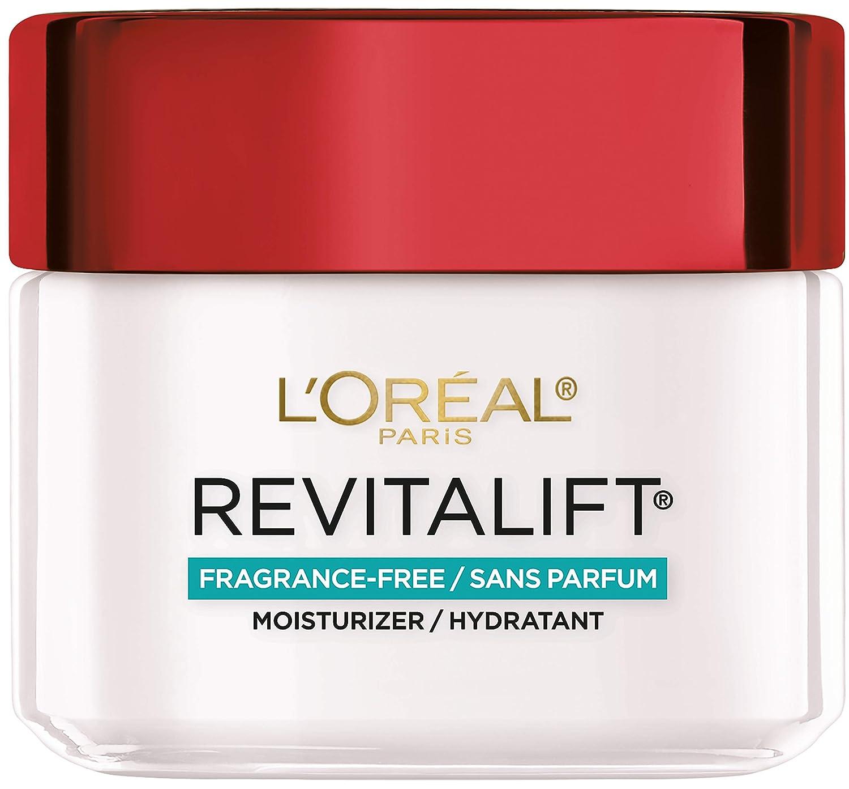 Face & Neck Moisturizer by L'Oréal Paris Skin Care I Revitalift Anti-Aging Fragrance Free Day Cream with Pro-Retinol I Paraben Free I 2.55 oz.