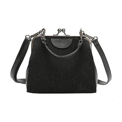 Striped corduroy women messenger bags brand new retro Shell handbag small  shoulder bag tote small clutch 75c1f5e2cb