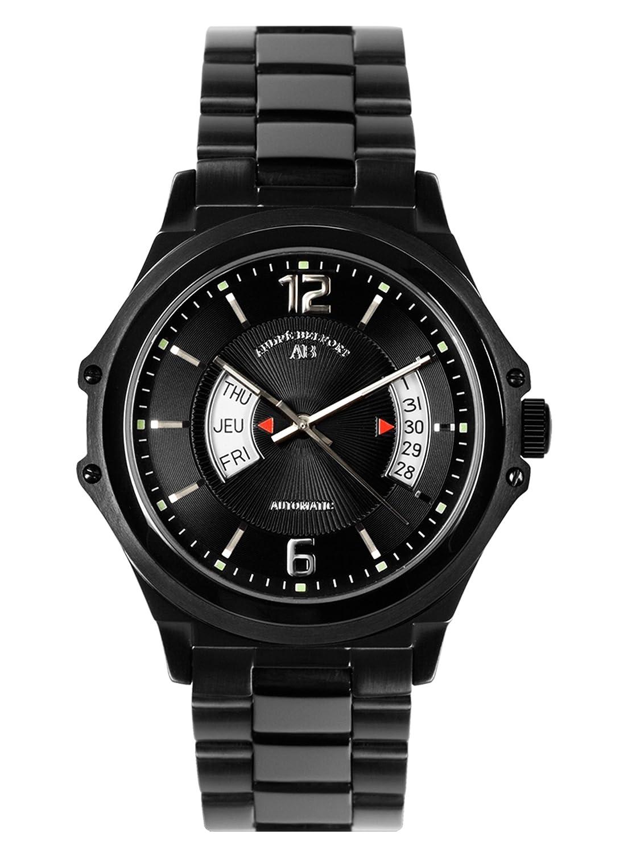 AndrÉ Belfort Herren-Armbanduhr Grande Classe Ip Schwarz 410152
