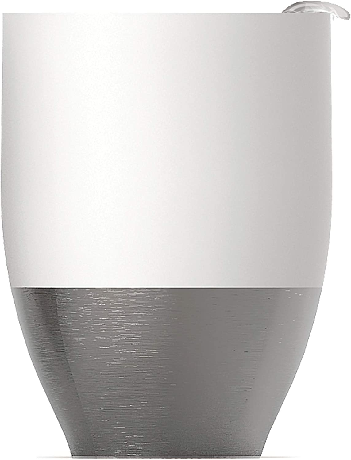 Asobu Imperial Beverage Insulated Cup For Coffee or Tea With Lid 10 Ounce (White)