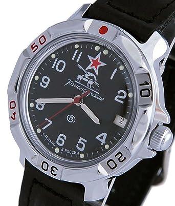 Vostok Komandirskie #431306 Commander 2414 - Reloj de Pulsera mecánico: Amazon.es: Relojes