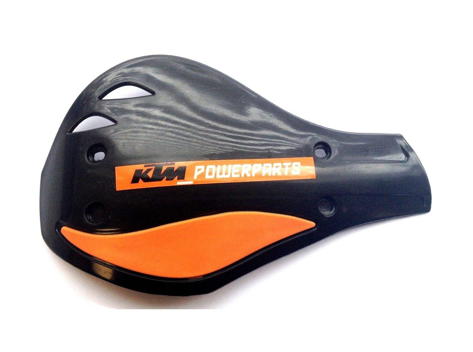 NEW KTM BLACK HAND GUARDS DEFLECTORS 200 250 300 450 XC XCW U6907896