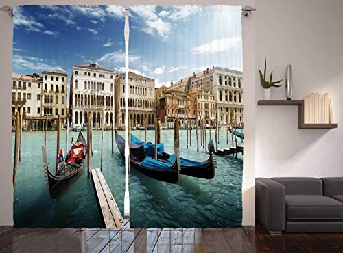 Ambesonne Italian Curtain