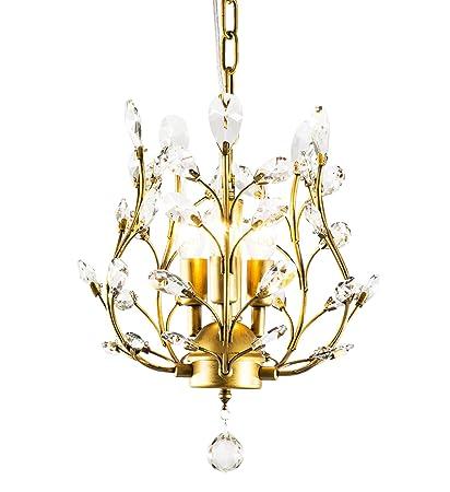 Amazon.com: LuFun lámparas de araña de cristal modernas ...