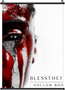Blessthefall Hanging Poster Artwork Painting Wall Art Print for Home Decor Living Room Bedroom Fans Gift