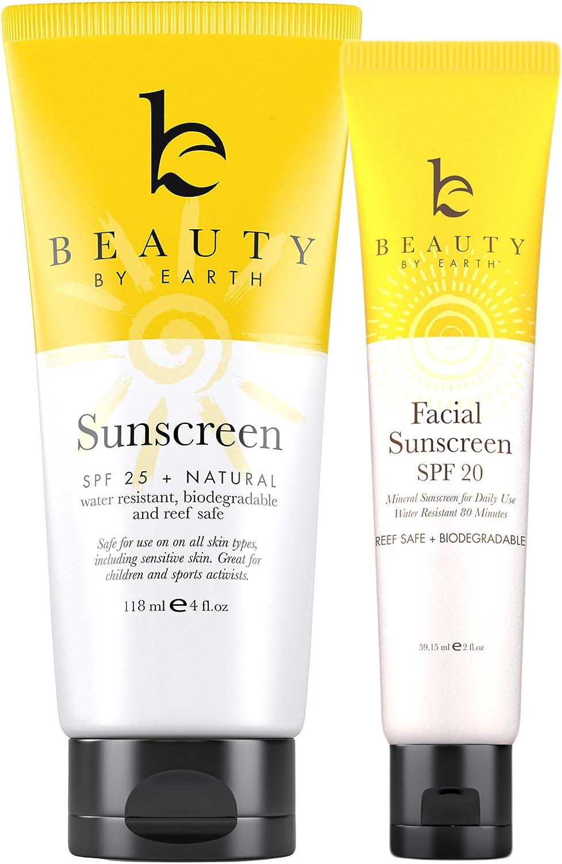 Kit Protector Solar – Lote de crema facial con SPF y Protector ...