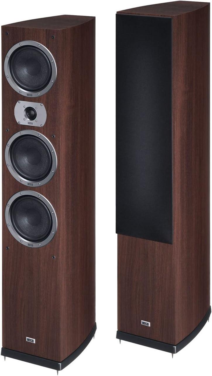 Heco Victa Prime 702 - Altavoces (Speaker, Piso, 25 mm, 170 W, 300 W, 25 - 40000 Hz) Café expreso (1 pieza)