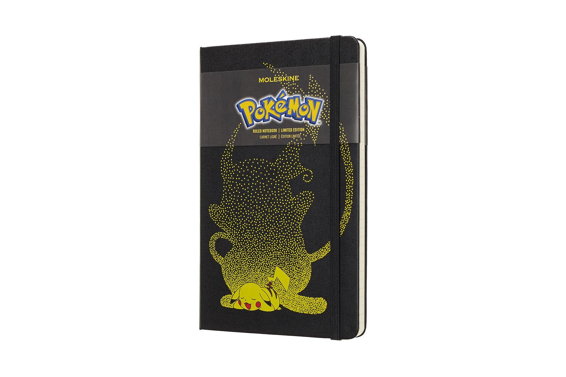 Moleskine Limited Edition Pokémon Hard Cover Notebook,...