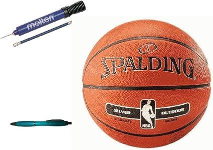 Spalding baloncesto Tamaño de plata al aire libre 6 + fundido ...