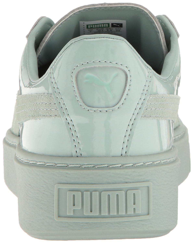 96b7a5584e44 ... PUMA Fashion Women s Basket Platform Patent Fashion PUMA Sneaker  B01LPWRR20 9.5 M US