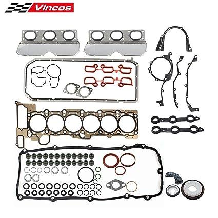 Amazon.com: Vincos Cylinder Head Gasket Set Replacement For 01-06 BMW M54 E36 325i 330ci 330i 530i 330xi 328i 525i 325xi X3 X5 Z3 Z4 2.5L 3.0L DOHC L6: ...