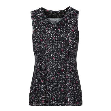b8b19e5fbd7b1a NUWFOR Women Fashion Blouse V-Neck Casual Loose Floral Printed Tops T-Shirt  Blouse